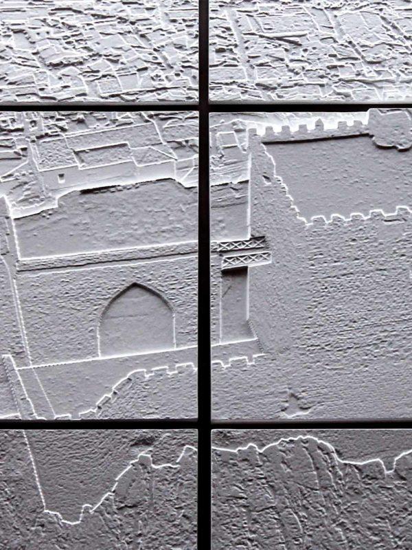 Bajorrelieve en CNC de Alburquerque realizado por EXarchitects en su fablab