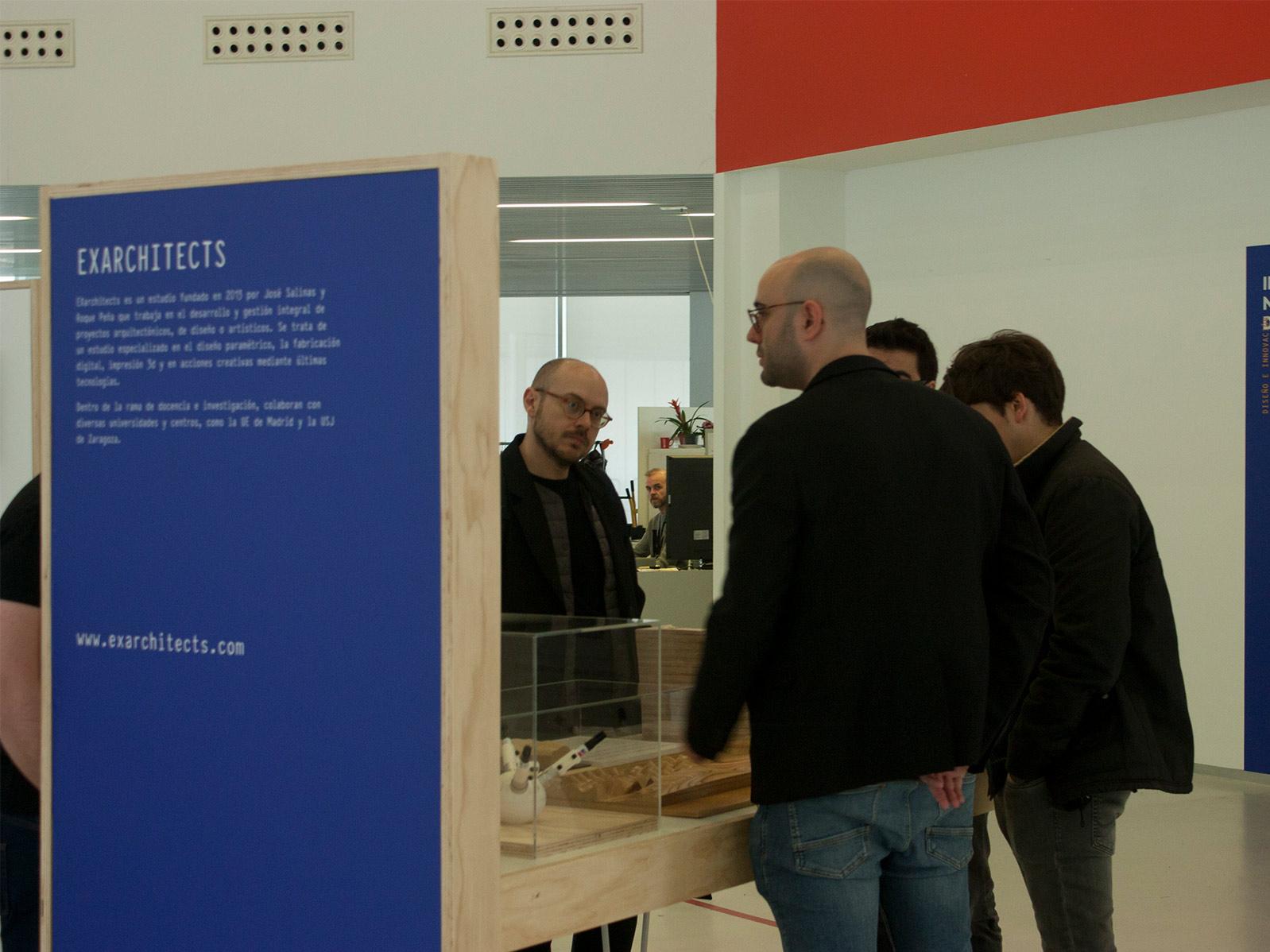Conferencia y exposición en Proyecta XII en la Escuela de Diseño de Zaragoza_ EXarchitects