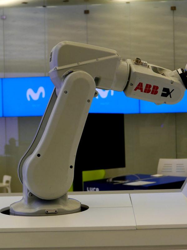 Retratos Robots, acción creativa para eventos desarrollada por EXarchitects