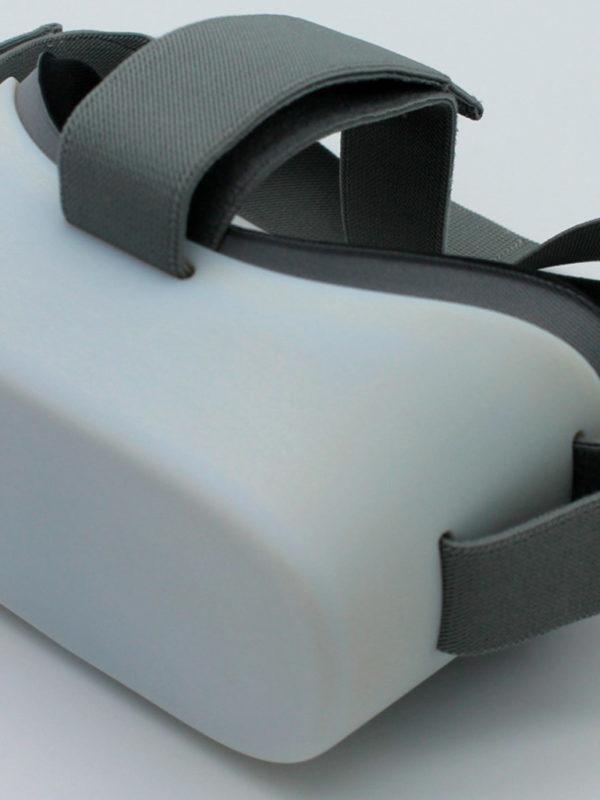 Gafas de realidad virtual realizadas por en el fablab de EXarchitects para spot publicitario