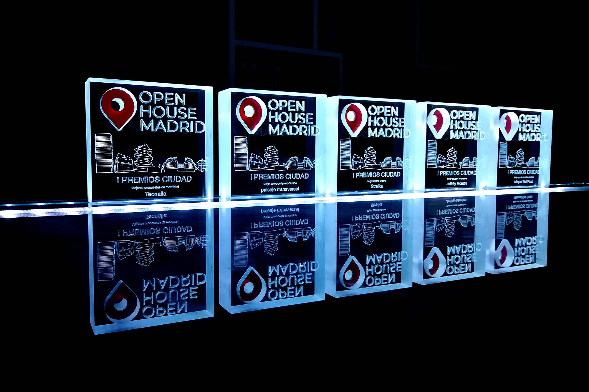 I Premios Ciudad, organizados por Open House Madrid