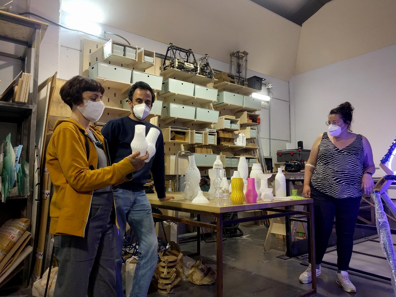 Marina Valls, Tiziana Chiara y Antonio Dominguez_ iAtelier_ EXarchitects